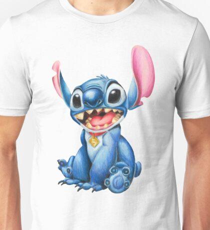 Stitch - Colored pencils Unisex T-Shirt