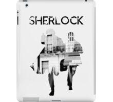 Monochrome Street Sherlock iPad Case/Skin