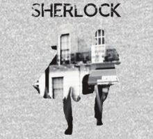 Monochrome Street Sherlock One Piece - Long Sleeve