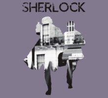 Monochrome Street Sherlock by Elly190712