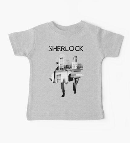 Monochrome Street Sherlock Baby Tee
