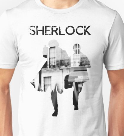 Monochrome Street Sherlock Unisex T-Shirt