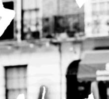 Monochrome Street Sherlock Sticker