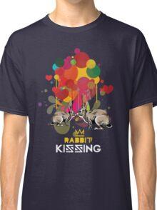 Rabbit kissing Classic T-Shirt