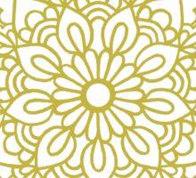 Gold Mandala Sticker