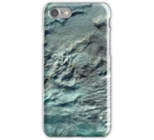 Russian Arctic Clouds and Ice Satellite Image iPhone Case/Skin