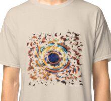 Fish Eye White Logo Classic T-Shirt