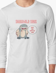 Skywhale Pinkribbon Long Sleeve T-Shirt