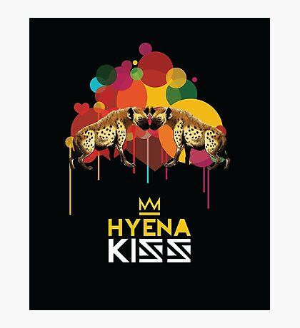 Hyena Kiss Photographic Print