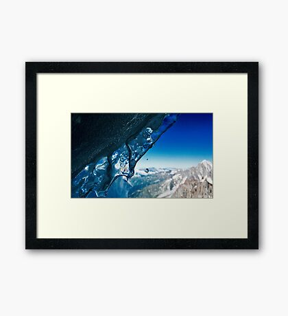A Small Drop In Time Framed Print