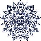 Navy Mandala by baileymincer