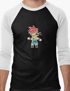 Crono Between Worlds Men's Baseball ¾ T-Shirt