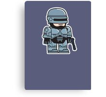Mitesized Robocop Canvas Print