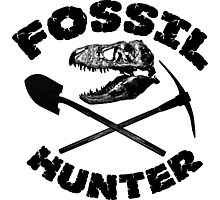 Fossil Hunter Photographic Print