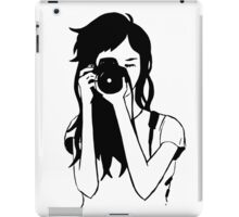 Photographer Girl iPad Case/Skin