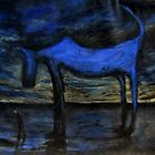 the old blue dog by glennbrady