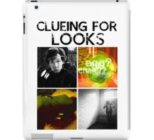 Clueing For Looks iPad Case/Skin