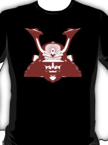 Kabuto graphic in red and white T-Shirt