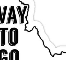 Way To Go Idaho Sticker