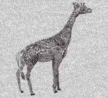 Designer Giraffe Kids Tee