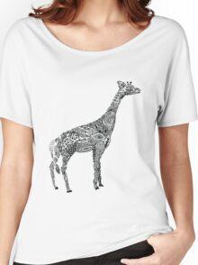 Designer Giraffe Women's Relaxed Fit T-Shirt