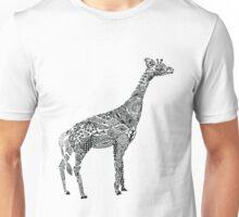 Designer Giraffe Unisex T-Shirt