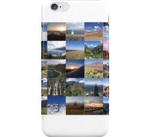 Landscape around the world iPhone Case/Skin