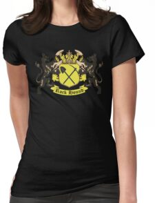Rockhound Coat of Arms Womens Fitted T-Shirt