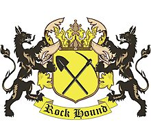 Rockhound Coat of Arms Photographic Print