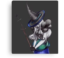 Mad Witch Canvas Print