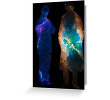 Sherlock Galaxies Greeting Card