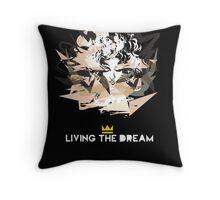 Madonna - living the dream Throw Pillow
