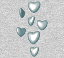 Unbreakable hearts glass Kids Tee