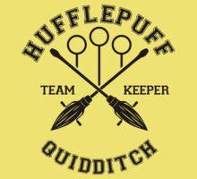 Quidditch - Hufflepuff - Team Keeper by Divum