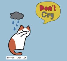 Don't cry kitty  Baby Tee