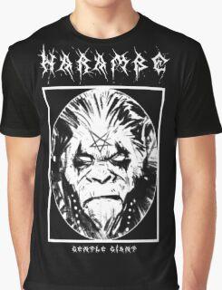 Black Metal Harambe Graphic T-Shirt