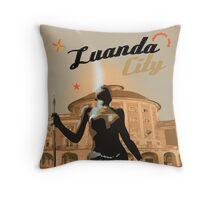 Angola Luanda Throw Pillow