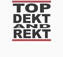 Top Dekt & Rekt Mens V-Neck T-Shirt