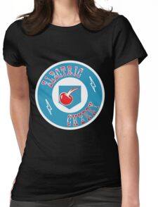 Electric Cherry Womens Fitted T-Shirt