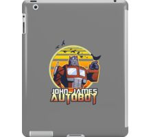 John James Autobot iPad Case/Skin