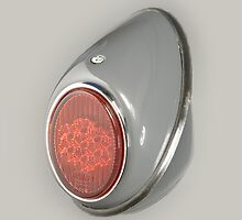 Very cool cover with VW Beetle 1952 rear light by Stefan Bau