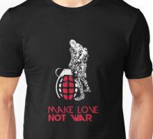 Make Love Not War with Grenade Unisex T-Shirt