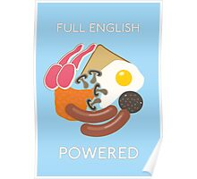 Full English Powered. Poster