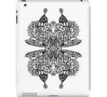 SYMMETRY - Design 004 (B/W) iPad Case/Skin
