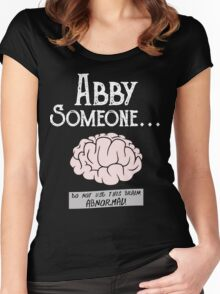 Abby Normal Women's Fitted Scoop T-Shirt