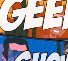 That Geek Show CLASSIC Logo Designs Sticker
