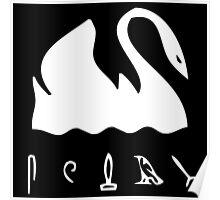 Swan Hieroglyphics (LOST TV Show) Poster