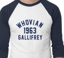 Whovian Men's Baseball ¾ T-Shirt