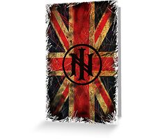Distressed Union Jack - Ill Nino UK Street Team Greeting Card
