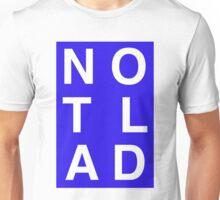 NOTLAD 3X2 RECTANGLE BLUE Unisex T-Shirt
